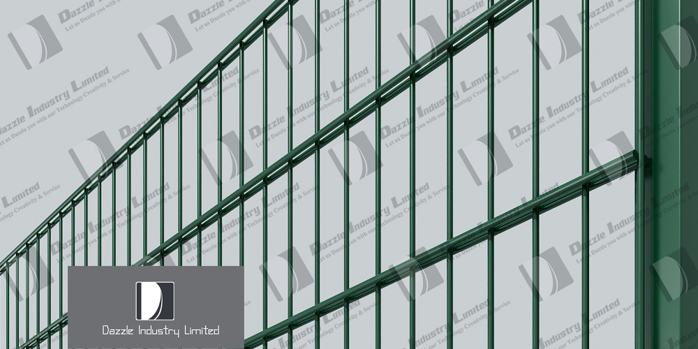 Double wire mesh panel fence - Dazzle Industry Limited